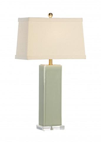 Chelsea House - Becker Vase Lamp in Green - 68816