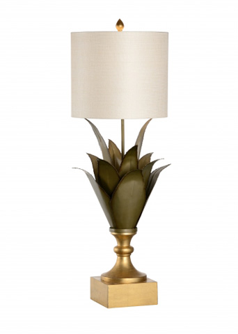 Chelsea House - Large Agave Lamp - 68822