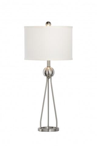 Chelsea House - Duncan Lamp in Nickel - 68876