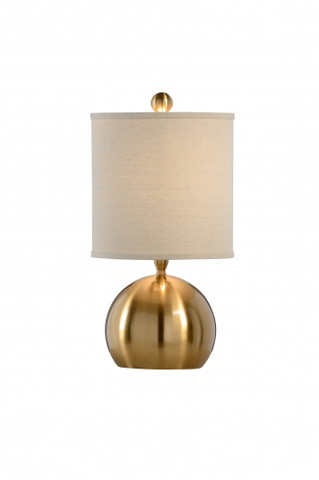 Chelsea House - Small Brass Ball Lamp - 68881