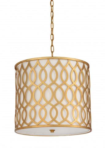 Chelsea House - Swirl Pendant in Gold - 68926