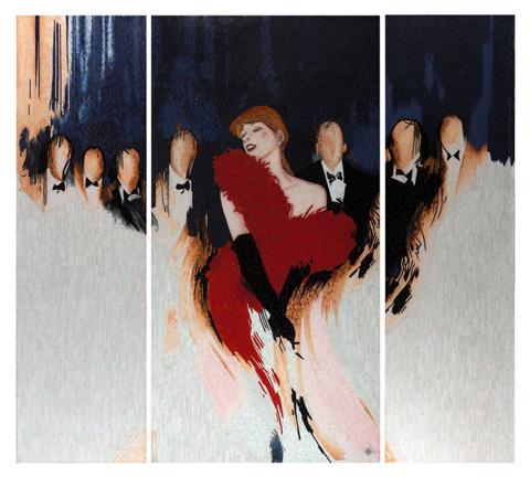 Christopher Guy - Vie Nocturne Wall Piece - 46-0370