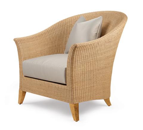 Christopher Guy - Rotin Chair - 60-0372