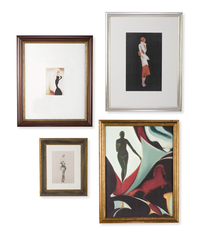 Christopher Guy - Mademoiselles Wall Decor - 46-0283