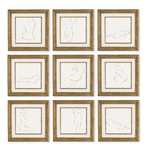 Christopher Guy - Neuf Belles Femmes Wall Decor - 46-0412