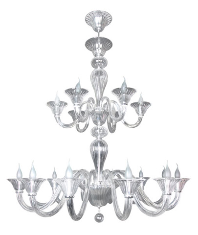 Christopher Guy - Luminox Chandelier - 90-0010-CLEAR