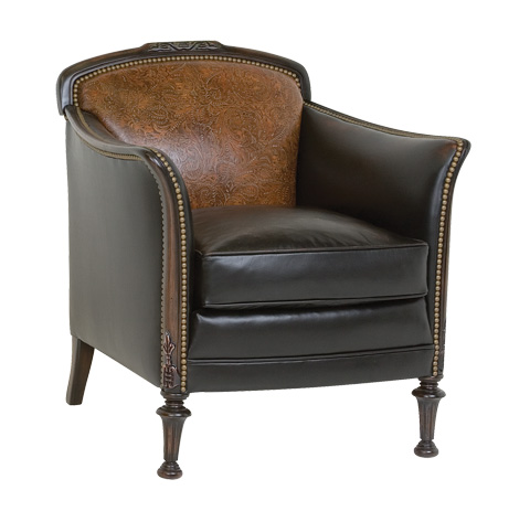 Classic Leather - Brown Leather Chair - 2231