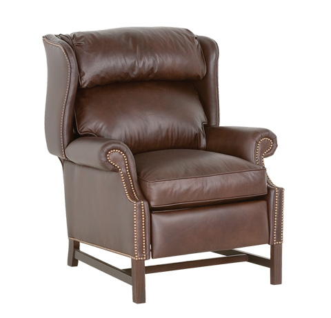 Classic Leather - Chippendale High Leg Recliner - 759-HLR