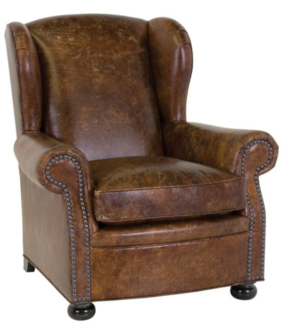 Classic Leather - Cigar Lounge Chair - 117761