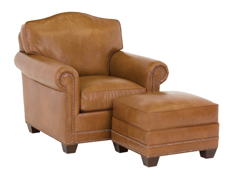 Classic Leather - Larsen Arched Back Chair - 56-22-AB