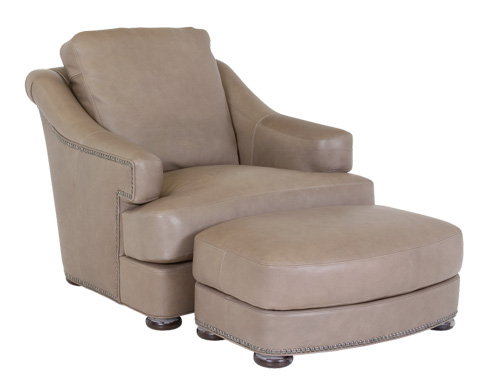Classic Leather - Stegal Ottoman - 8215