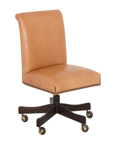 Classic Leather - Kneehole Desk Chair - 698-ST