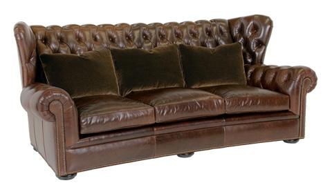 Classic Leather - Pomeroy Tufted Sofa - 8613