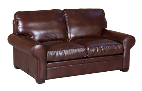 Classic Leather - Library Loveseat - 11517