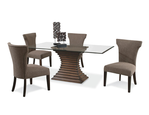 CMI - Granville Stacked Dining Table - 4363