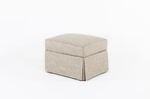 CMI - Skirted Storage Ottoman - CC2443
