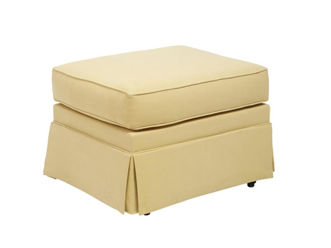 Comfort Design Furniture - Skirted Ottoman - G5400 GLDOT