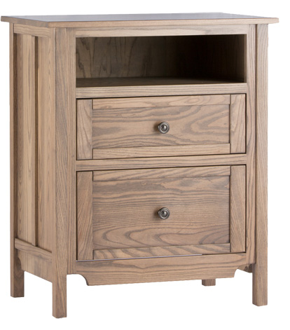 Conrad Grebel - Shoreham Two Drawer Nightstand - D20E