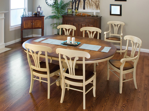 Conrad Grebel - Wethersfield Dining Table - 5484T/5484B