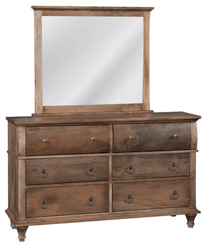 Conrad Grebel - Madison Six Drawer Dresser and Mirror - D25C/D25A