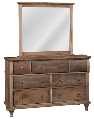 Conrad Grebel - Madison Seven Drawer Dresser and Mirror - D25C/D25AJ