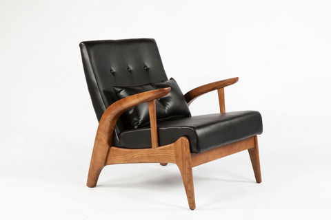 Control Brand - The Randers Arm Chair - FYC936BLKPU