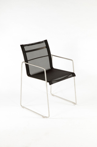 Control Brand - The Dynamic Arm Chair in Black - FCC0704BLK
