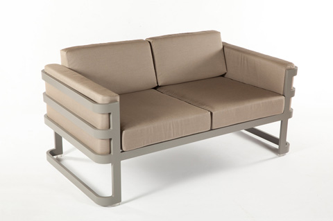 Control Brand - The Patras Loveseat - FCC3511GREY