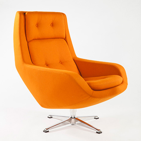 Control Brand - The Limburg Lounge Chair - FEC2639ORG