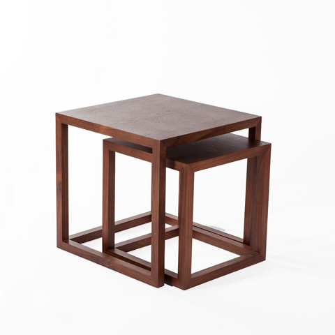 Control Brand - The Vaxaholm Nesting Table - FET0031WALNUT