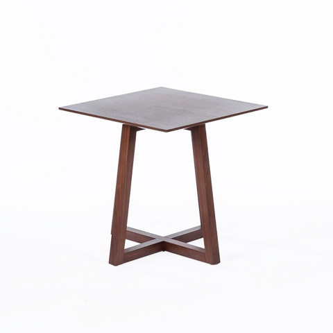 Control Brand - The Moldahl Square Table - FET8126WALNUT