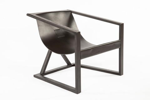 Control Brand - The Lahti Lounge Chair - FQC008BLK