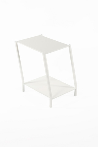 Control Brand - The Wiggle End Table - FT6023WHT