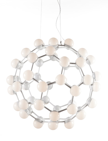 Control Brand - The Mauro Pendant - LM606PWHT