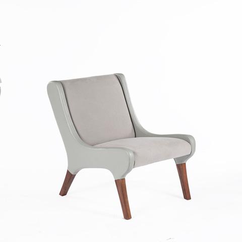 Control Brand - The Brandt Lounge Chair - FEC1739LGREY1