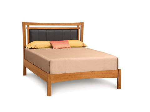 Copeland Furniture - Monterey Bed with Upholstered Panel - 1-MON-22