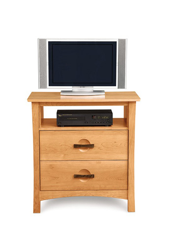 Copeland Furniture - Berkeley 2 Drawer TV Organizer - 2-BER-25
