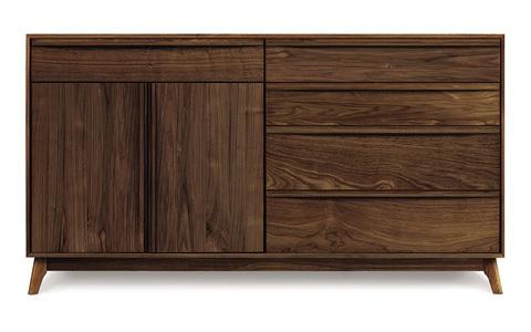 Copeland Furniture - Catalina 5 Drawer Dresser - Walnut - 2-CAL-71-04