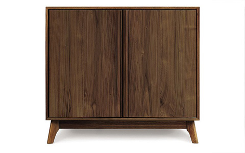Copeland Furniture - Catalina 2 Door Buffet - Walnut - 6-CAL-25-04