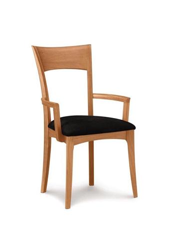 Copeland Furniture - Ingrid Upholstered Armchair - Cherry - 8-ING-22