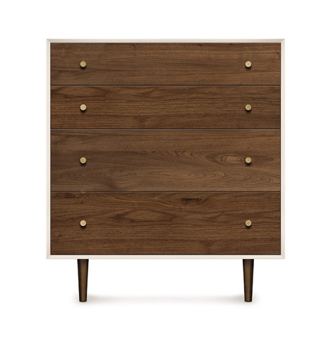 Copeland Furniture - MiMo Four Drawer Chest - 2-MIM-40-14
