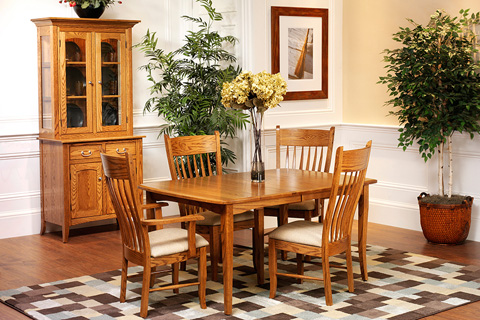 Country View Woodworking, Ltd - Dining Leg Table - 23-242602