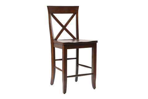 Country View Woodworking, Ltd - Side Counter Stool - DBC-06-24