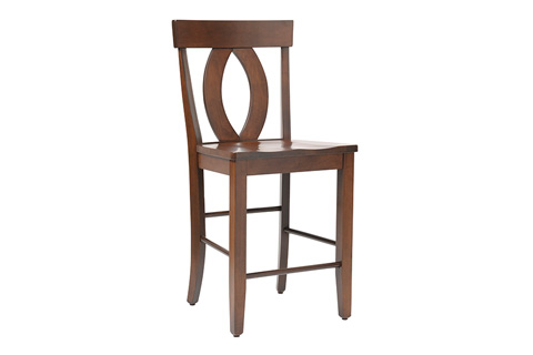 Country View Woodworking, Ltd - Side Counter Stool - DBC-08-24