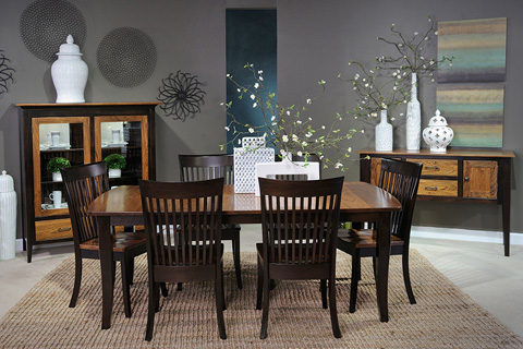 Country View Woodworking, Ltd - Leg Dining Table - LT42601