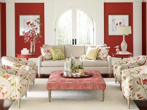 C.R. Laine Furniture - Yates Ottoman - 44