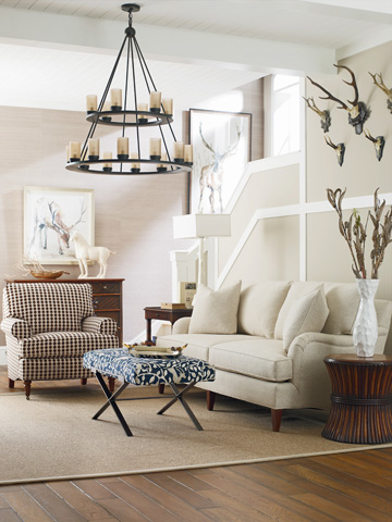 C.R. Laine Furniture - Custom Design Chair - CD8805S