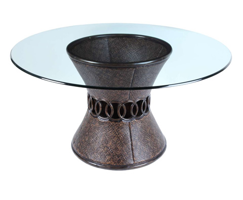 Curate by Artistica Metal Design - Circles Dining Table - C402-100