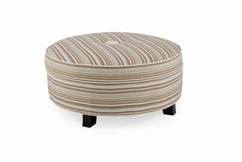 C.R. Laine Furniture - Pendelton Large Round Ottoman - 6038