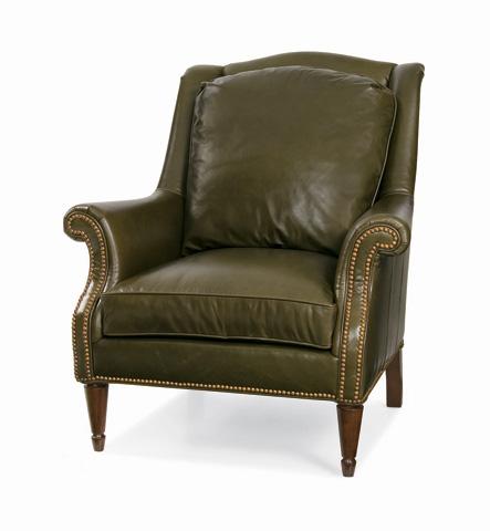 C.R. Laine Furniture - Porter Leather Chair - L1115